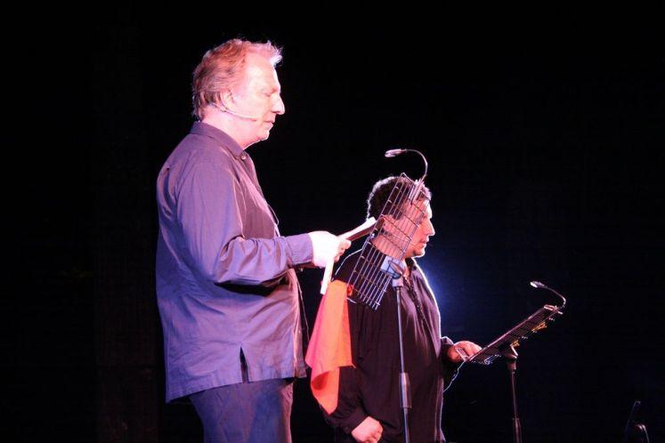 Alan Rickman e Simone Domenico Migliorini leggono Shakespeare a Volterra