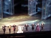 Otello cast at curtain call