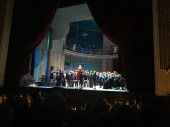 Curtain, La Sonnambula, Vienna