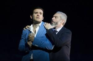 Michael Fabiano: noch einmal als Alfredo in Glyndebourne mit Tassis Chrstoyannis/Pêre Germont/Foto Richard Hubert Smith/GFO