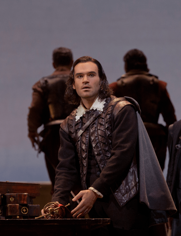 Michael Fabiano (Don Carlo). Photo by Ken Howard