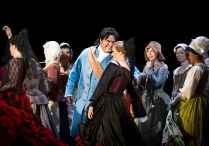 Regi: Thaddeus Strassberger, Dirigent: Rinaldo Alessandrini, Yngve Søberg som Figaro