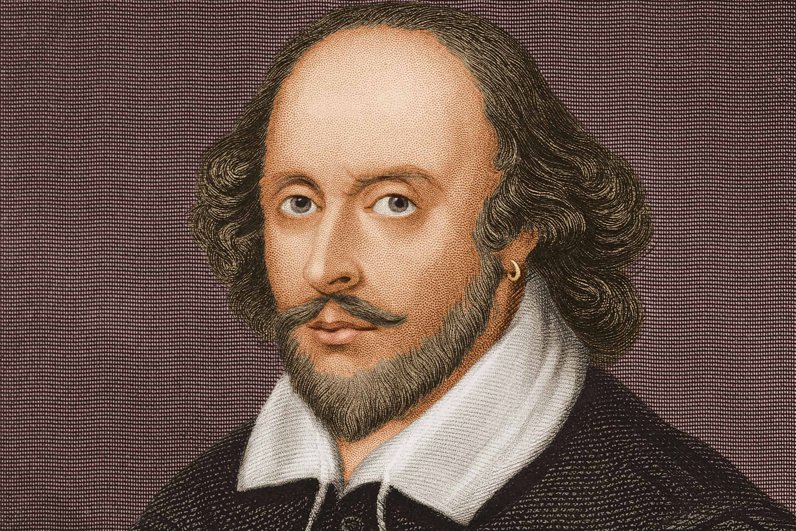 Circa 1600, English playwright and poet William Shakespeare (1564-1616). (Photo by Stock Montage/Getty Images)