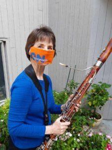Janet Polk, Opera North Orchestra bassoonist