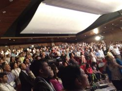 "The crowd at the INK Conference, which was supplemented by a ""spill-over"" room of ca. 500 people, several miles away."