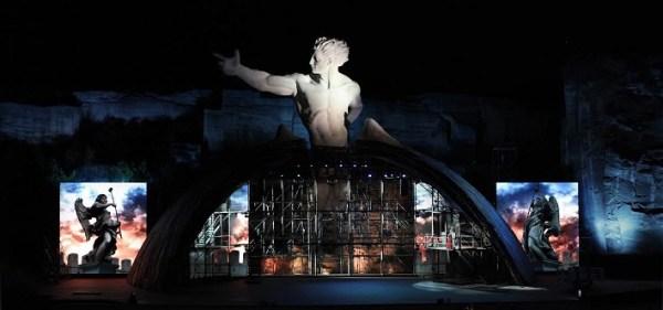 G. Puccini Tosca, open air festival v St. Margarethen 2015