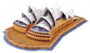 3D-Modellogic, 58 Teile, Opera House