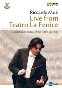 Il Teatro La Fenice : Das Konzert zur Wiedereröffnung am 14.12.2003. Er dirigiert Riccardo Muti.