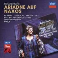 Richard Strauss (1864-1949) Ariadne auf Naxos Jessye Norman, Edita Gruberova, Paul Frey, Julia Varady, Dietrich Fischer-Dieskau, Gewandhausorchester Leipzig, Kurt Masur