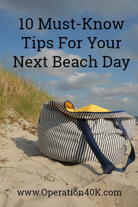 10 must-know tips for your next beach day
