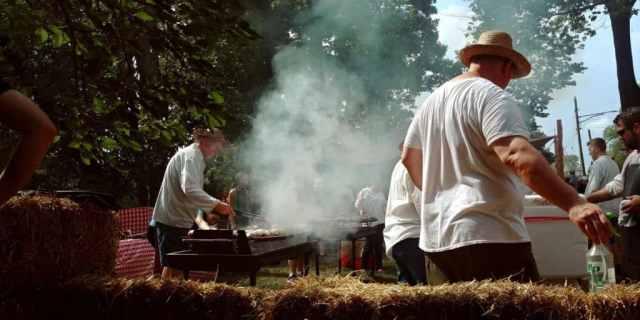 johhny appleseed festival cooking