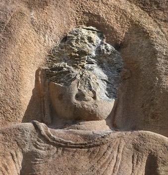 defaced.buddha
