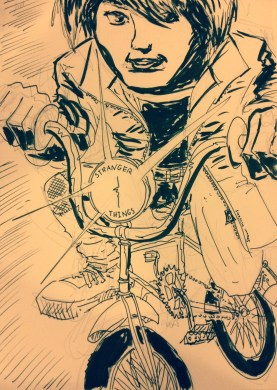 shawnbrookwilliams - Bike Sketch