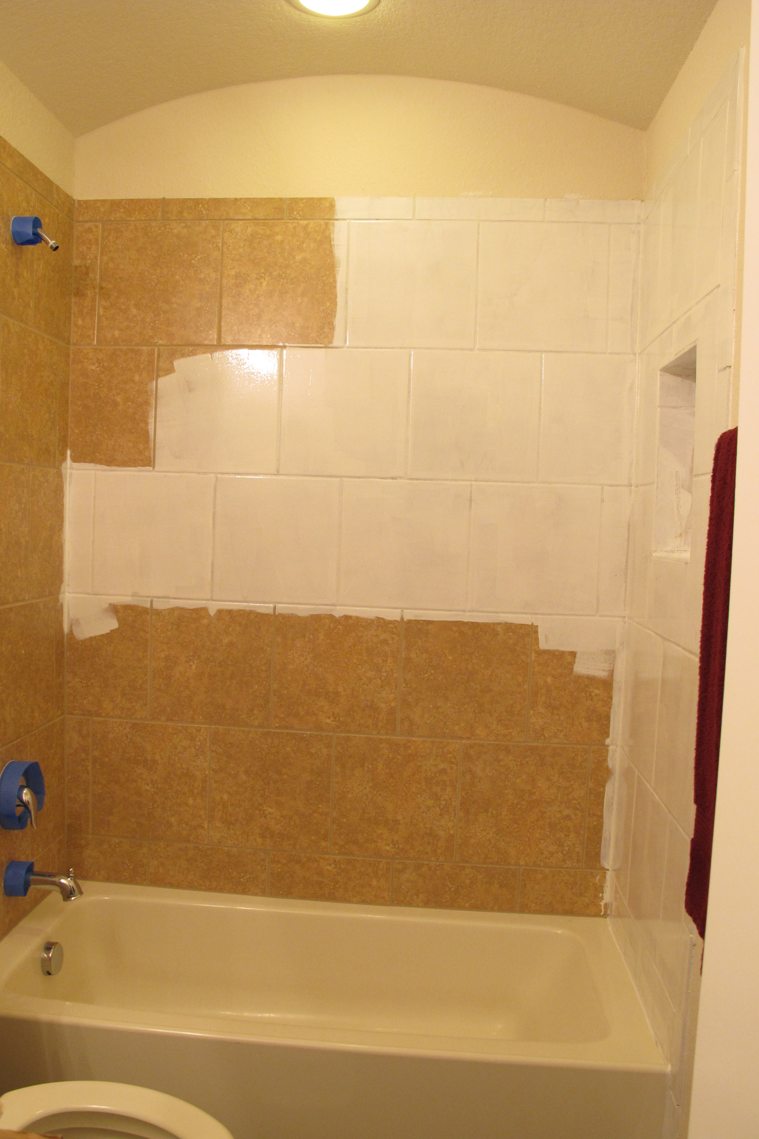 rustoleum tile painting kit operation