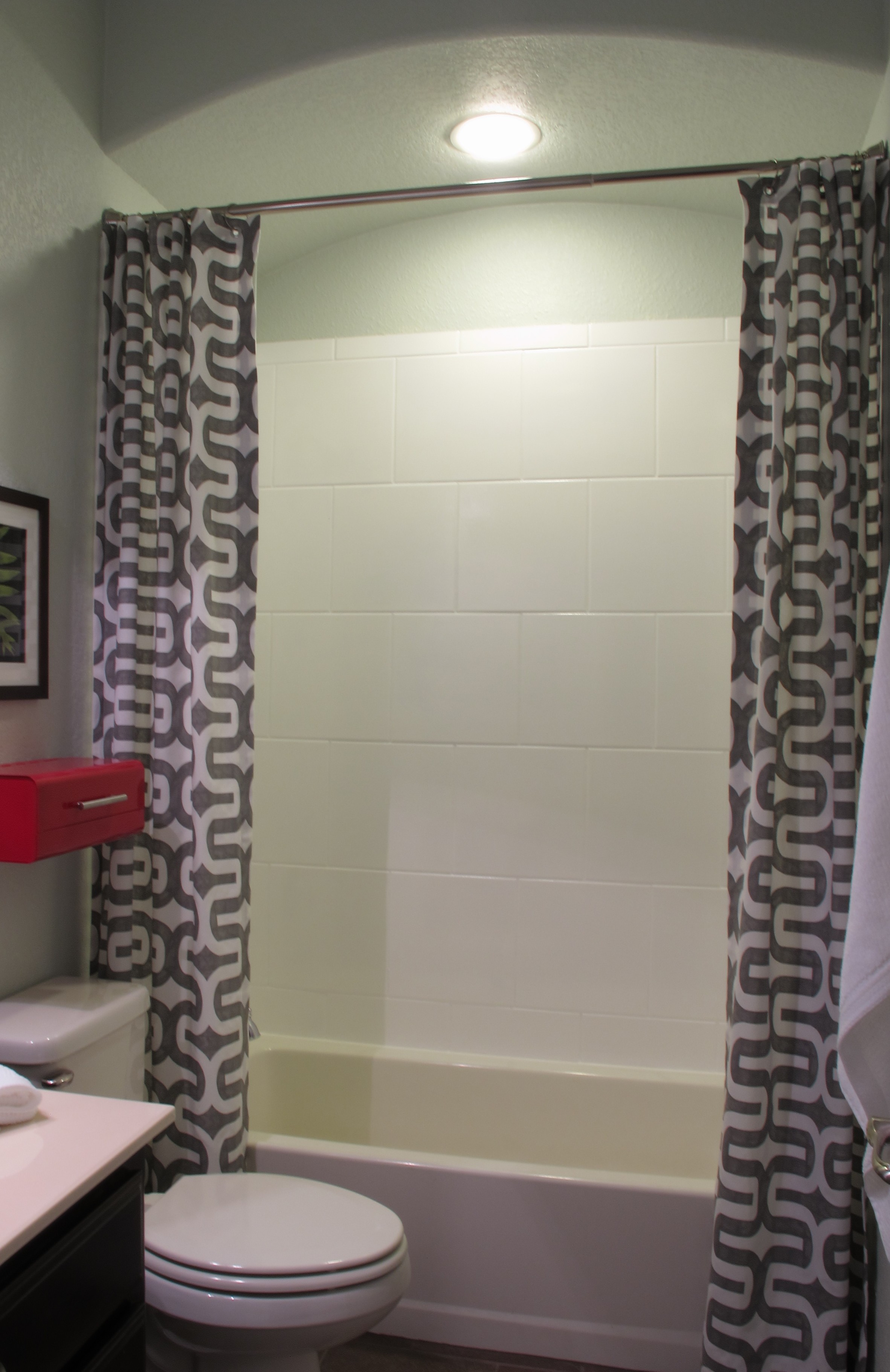 adapting a shower curtain liner for