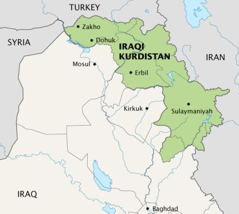 Duhok Map