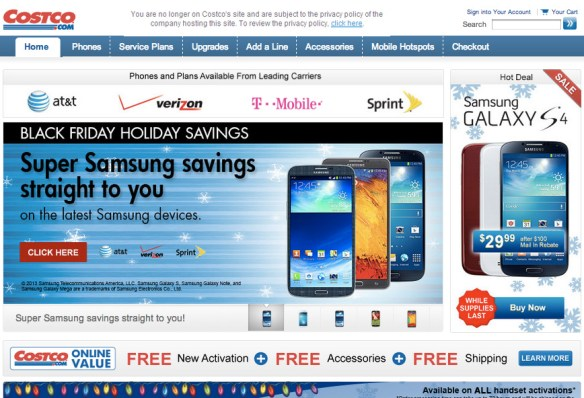 Costco Black Friday Cell Phone Deals on Costco Phone Deals id=46101