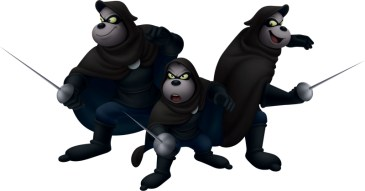 Kingdom Hearts 3D - Beagle Boys