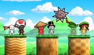 Cloudberry Kingdom Screenshot 1