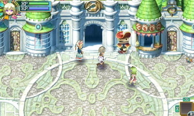 Rune Factory 4 - Town Square | oprainfall