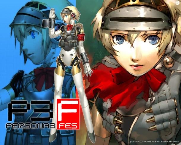 Aigis in Persona 3 FES