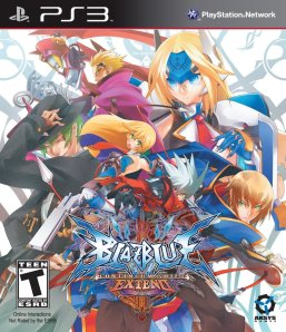 BlazBlue Continuum Shift EXTEND Box Art