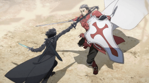 Sword Art Online | Kirito and Heathcliff Duel
