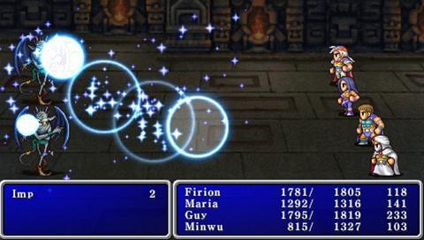 Final Fantasy II Anniversary Edition battle 2