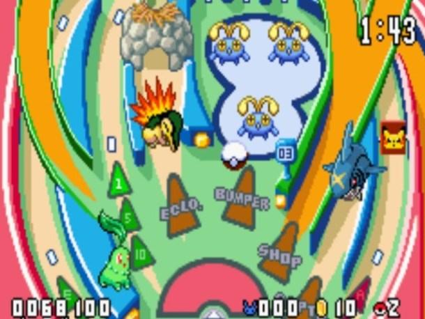 Pokemon Pinball R&S Screenshot 1 | Nintendo Download Europe