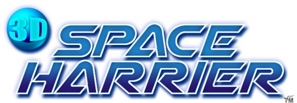 3D Space Harrier logo