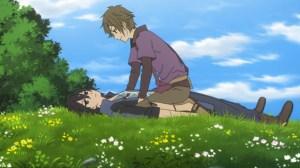 Shin Sekai Yori Satoru and Shun relationship