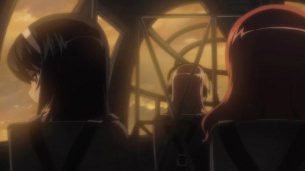 Girls und Panzer Mako, Saori, and Maho's Comrade