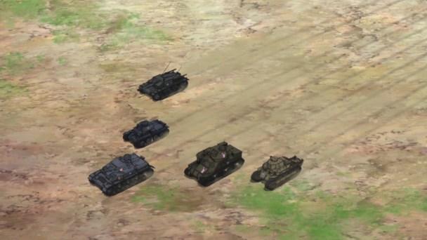 Girls und Panzer Tanks