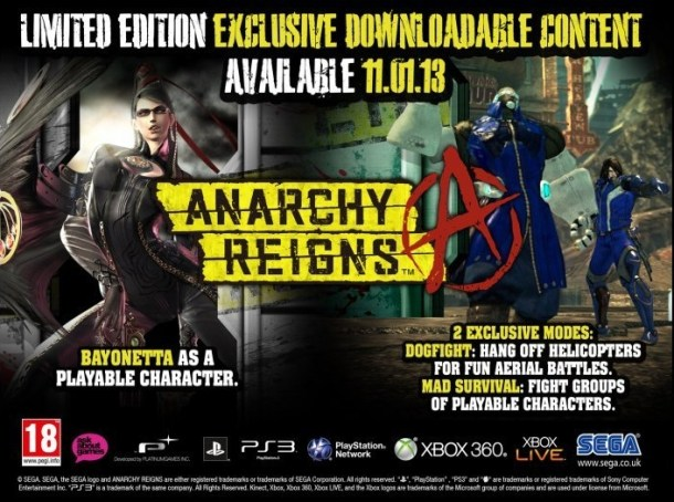 Anarchy Reigns European LE