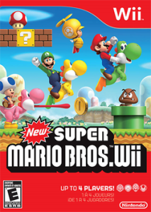 New Super Mario Bros. Wii box art