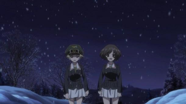Girls und Panzer Erwin and Yukari