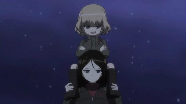 Girls und Panzer Katyusha and Nonna