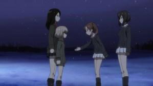 Girls und Panzer Nonna, Katyusha, Anzu, and Kawashima