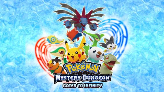Pokemon Mystery Dungeon Gates of Infinity Box Art