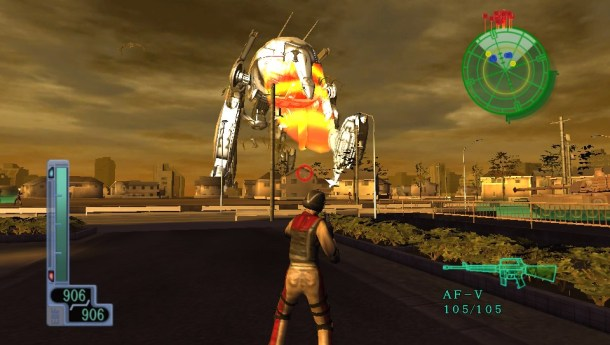 Earth Defense Force 2017 Portable screen cap 3