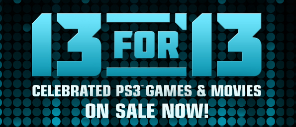 PSN 13 for '13
