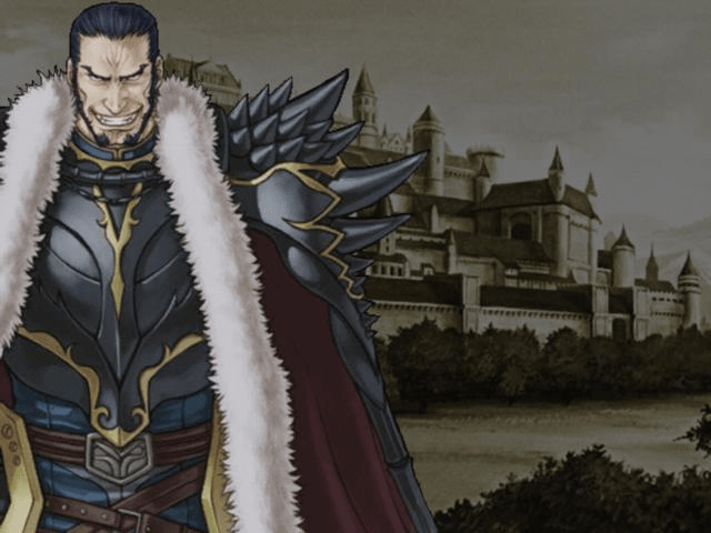 He may not be the best Fire Emblem antagonist, but there's no denying he certainly looks evil.