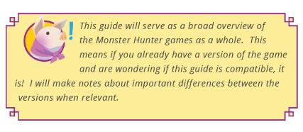 Monster Hunter Beginner's Guide