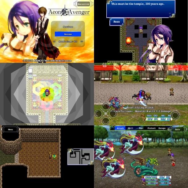Aeon Avenger screenshots
