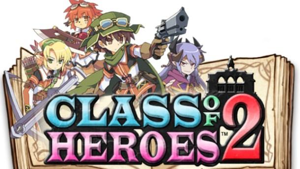Class of heroes 2 logo