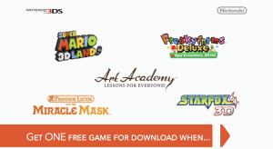 Free Game Nintendo 3DS