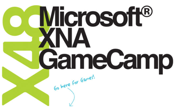 Microsoft XNA GameCamp Logo