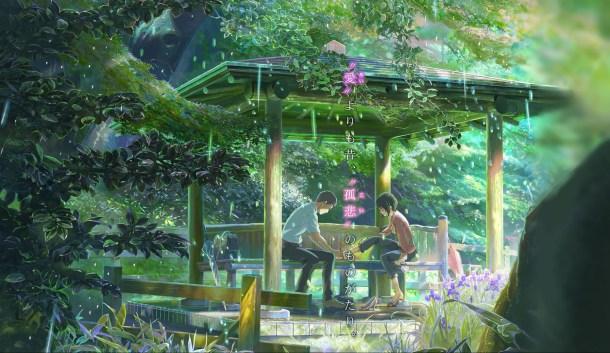 The Garden of Words / Kotonoha no Niwa   Takao and Yukino
