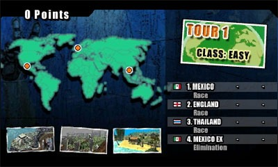 ATV Wild Ride Tour Map