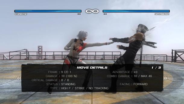 Dead or Alive 5 Plus   Move Details—Christie vs. Hayabusa